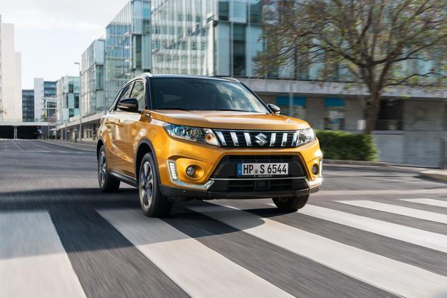 Suzuki Vitara - Ein neuer Turbo zum Lifting