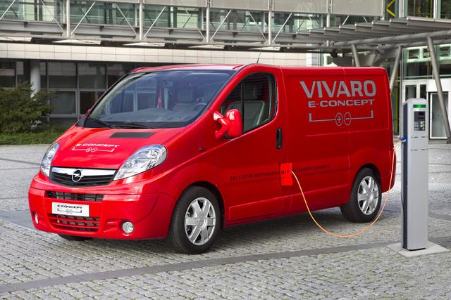 Opel Vivaro e-Concept - Strom und Last