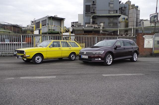 Generationentreffen Volkswagen Passat - Der Fortschritt der Mitte