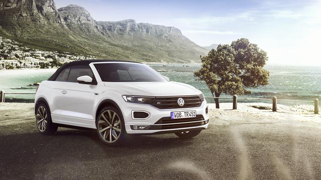 VW T-Roc Cabrio - Lässt die Hüllen fallen