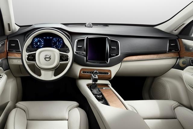 Zweite Generation des Volvo XC90 - Innen alles anders