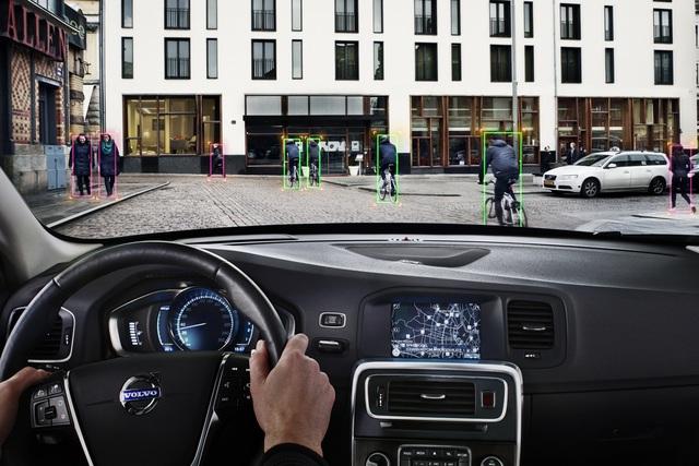 Volvo-Sicherheitssystem - Mehr Schutz für Radler