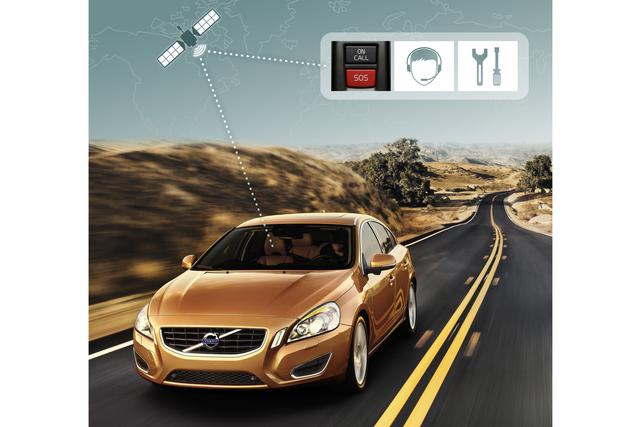 Volvo-Sicherheitssystem mit neuen Funktionen