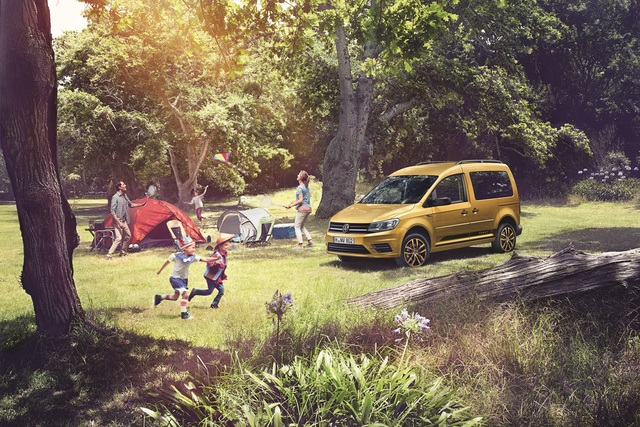 VW Caddy Family - Mit Alltags-Hilfen