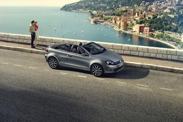 VW Golf Cabriolet Karmann - Hommage unter Partnern