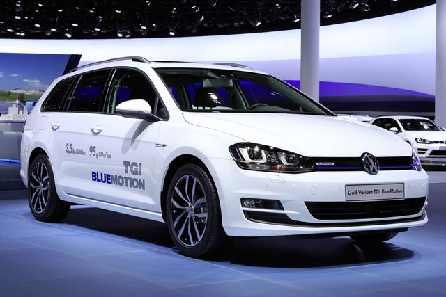 VW Golf Variant TGI Bluemotion - Erdgas nun auch für den Kombi
