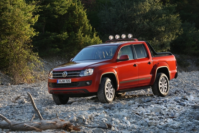 VW Amarok Canyon - Gut geschminkt ins Gelände