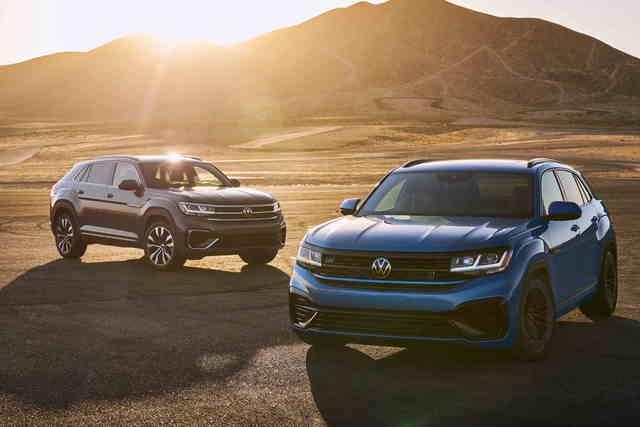 VW Atlas Cross Sport GT Concept - R-Weihen für SUV-Coupé