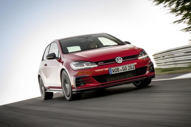 VW Golf GTI TCR bestellbar - 250 sind Serie, 260 km/h kosten extra