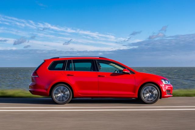 VW Golf Variant Bluemotion - Laden und sparen