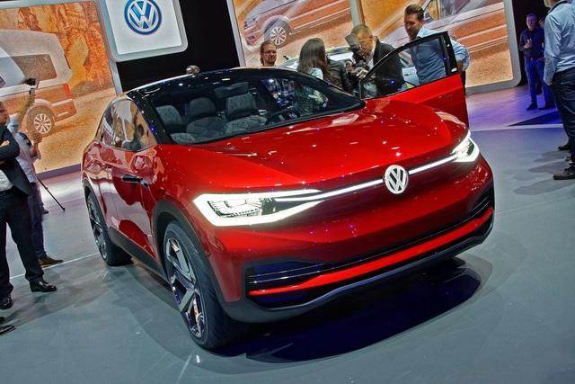 VW I.D. Crozz II - In Rot recycelt