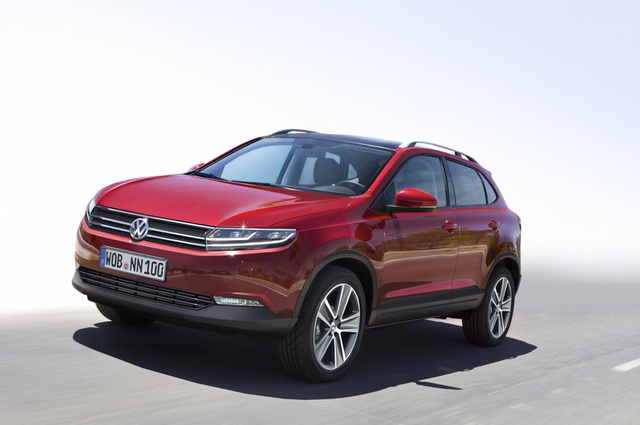 VW SUV-Pläne - Kleiner Kraxler kommt 2016