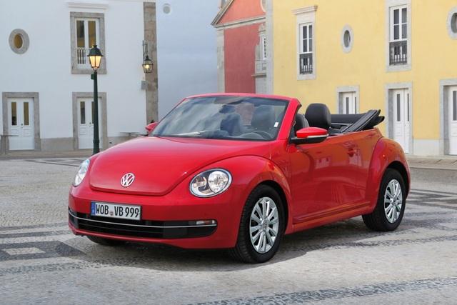 VW Beetle Cabrio - Der Retro-Käfer zieht den Hut