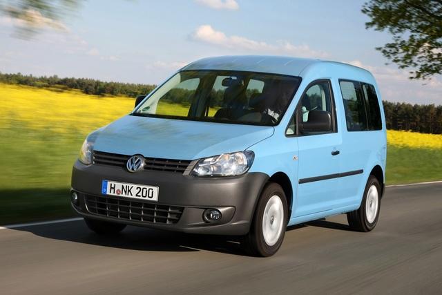 VW Caddy BiFuel - Für sparsame Handwerker