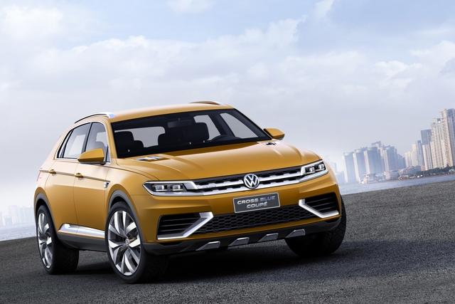 VW Cross Blue Coupe - Ein Blick in die SUV-Zukunft