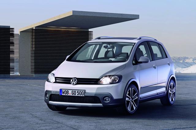 VW Golf Cross: Angebot komplett