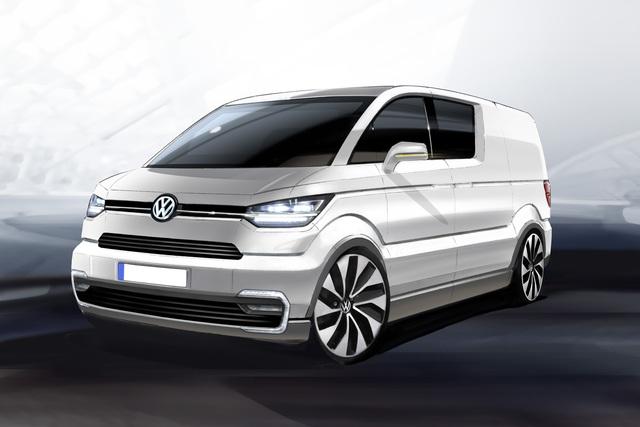 VW e-Co-Motion - Elektrischer Lieferdienst