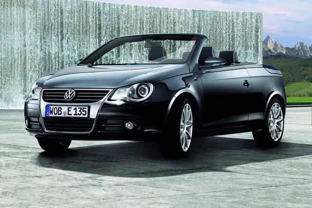 VW Eos mit exklusiver Ausstattung