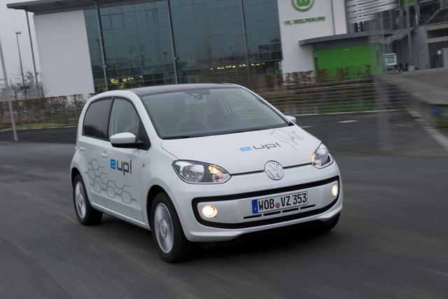 Volkswagen E-Up - Reif für die Serie