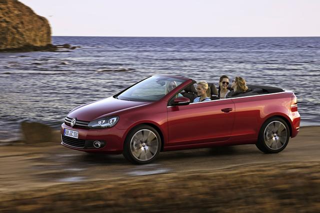 """VW Golf Cabrio - Perfektion statt """"Erdbeerkörbchen"""""""