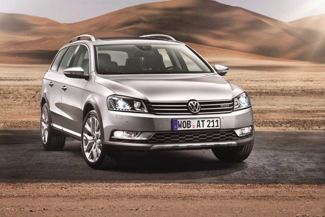 VW Passat Alltrack - Der Dienstwagen fürs Gelände