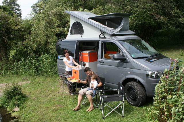 VW Bus Terock - Rockig campen