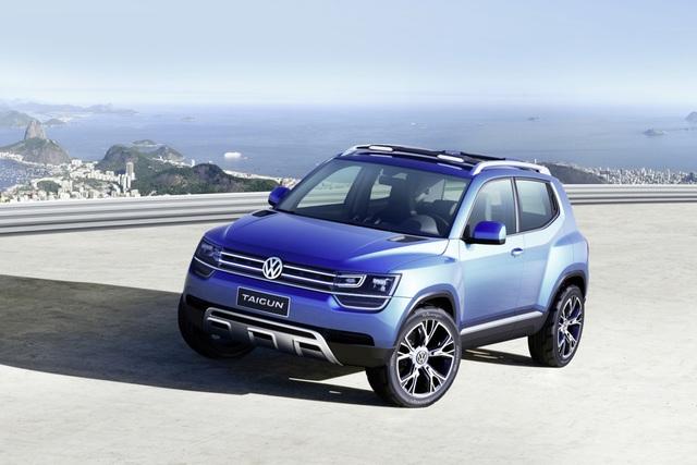 VW Taigun Concept - Baby-Tiguan aus der Up-Familie