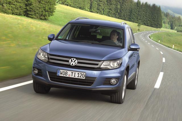VW-Pläne - Zwei Geschwister für den Tiguan