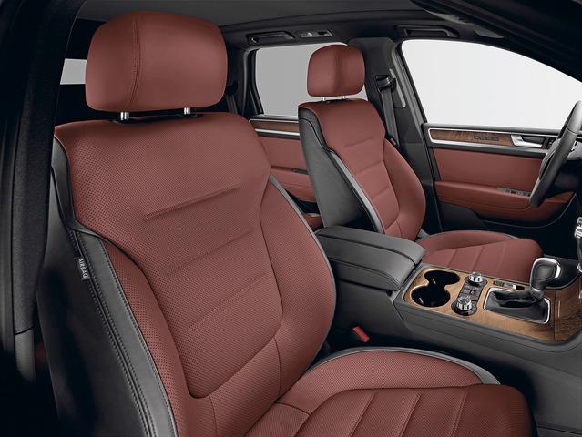 VW Touareg Exclusive - Es geht auch edler