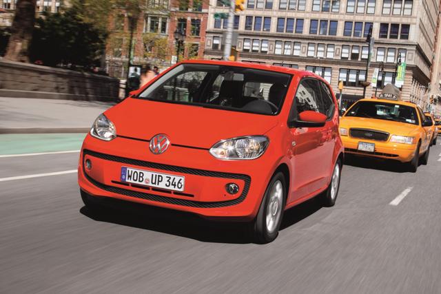 VW Up - Kleinstwagen schaltet automatisch