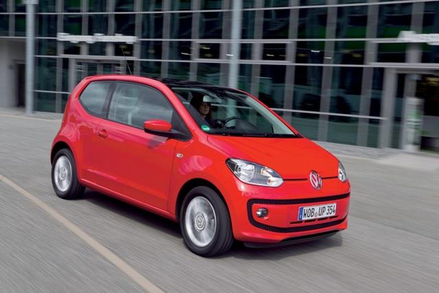 VW Up - Start-Stopp für den Stadtfloh