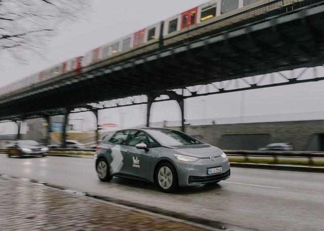 WeShare kommt mit Elektromobilen nach Hamburg - 800 VW ID.3 für die Hansestadt