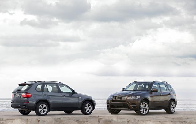 BMW X5: Mehr Leistung, acht Gänge und leichte Modifikationen.