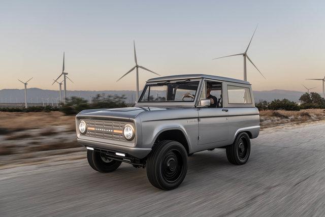Ford Bronco von Zero Labs - Ur-SUV mit Zukunftsantrieb