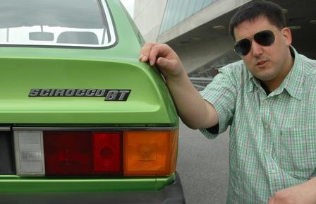 Faszination: VW Scirocco I - Grüner Wüstenwind