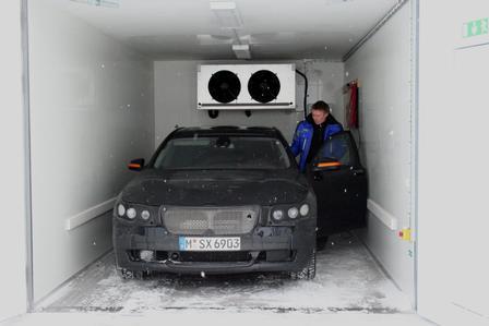 Reportage: Erprobung 7er BMW - Feinschliff im Schnee