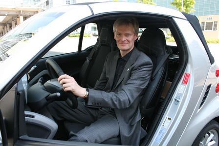 Smart electric drive: Volker Störkmann