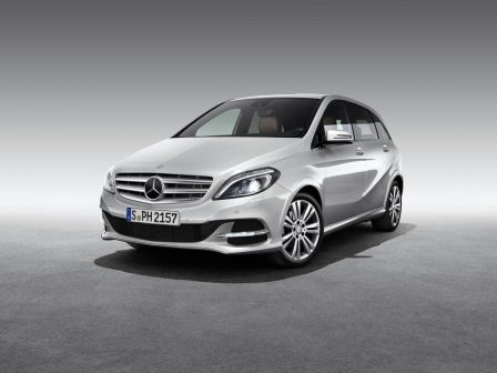 Mercedes B 200 Natural Gas Drive - Sparversion