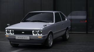 Hyundai Pony Heritage-Studie  - Futuristischer Ur-Typ