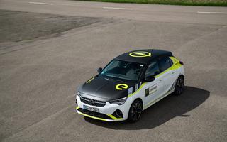 Opel Corsa-e  - Rally-Look für die Straße