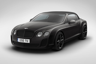 Bentley Supersports Convertible Ice Speed Record - Der stärkste Ben...