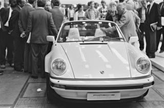 40 Jahre Porsche 911 Cabriolet - Schneller in den Sommer