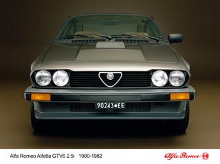 Tradition: 40 Jahre Alfa Romeo GTV 6 - Der letzte Donnerkeil alter ...