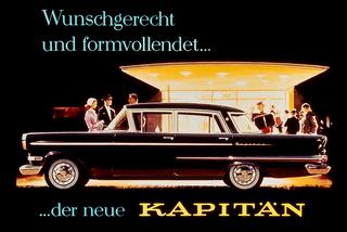 Tradition: 60 Jahre Opel Kapitän P 2,6 - Wechselhafte Aussicht