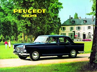 Tradition: 60 Jahre Peugeot 404 - Französischer Erfolgstyp in itali...