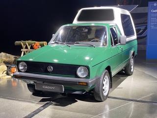 5 Generationen Volkswagen Caddy - Bullis kleiner Bruder