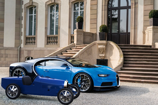 Bugatti Bébé II - Kinderwagen ohne Speed-Limiter
