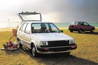 Tradition: Fünf Generationen Nissan Micra - Mit Kuscheltieroptik un...