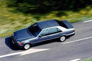 Tradition: 25 Jahre Mercedes-Benz S-Klasse (W 140) - Schwergewicht ...
