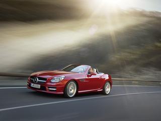 Mercedes-Benz SLK - Ganzjährig geöffnet